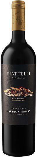 Vinho Piattelli Reserve Malbec - Tannat 750 ml
