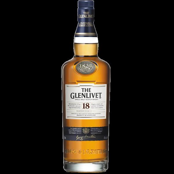The Glenlivet Single Malt 18 Anos 750ml