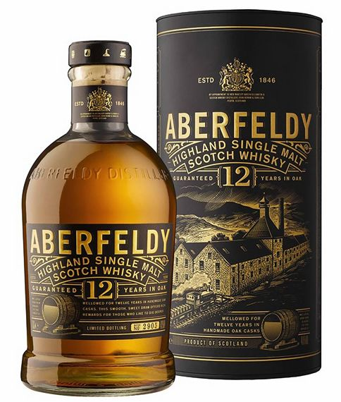 Whisky Single Malt Aberfeldy 12 anos 750 ml
