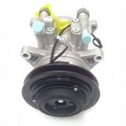 Compressor ar condicionado Univ. Marelli Modelo 6P - Polia 1 canal - 8 orelhas