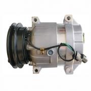 Compressor de ar condicionado Harrison maquina escavadora Hyundai 24V