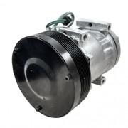 Compressor de ar condicionado SD7H15 - Caterpollar - Polia V - 8 Orelhas