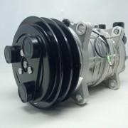 Compressor de ar condicionado Universal TM16 V Dupla - Original Valeo