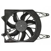Eletro ventiladr - Ventoinha Fiat Palio - Uno Vivace 2012>> Com ar - Sistema Valeo