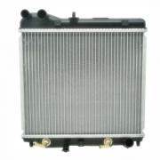 Radiador de água Honda Fit 03/08 - com ar - câmbio automático (ONE)