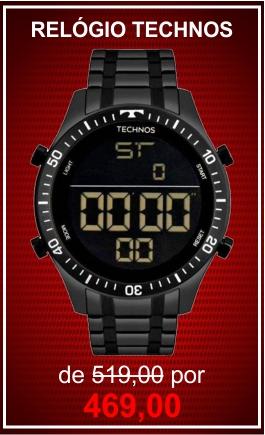 promoção technos digital masculino t02139ab/4p