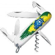 Canivete Victorinox Spartan Pintura Brasil Edição Limitada 91mm 1.3603.7BR3