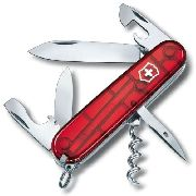 Canivete Victorinox Spartan Vermelho Translúcido 12 Funções 91mm 1.3603.T