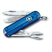 Canivete Suíço Victorinox Classic 7 Funções Azul Translúcido 58mm - 0.6223.T2