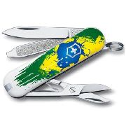 Canivete Victorinox Classic Pintura Brasil 0.6223.7BR3