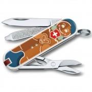 Canivete Victorinox Classic Gingerbread Love Edição Limitada 2019 0.6223.L1909