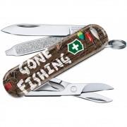 Canivete Victorinox Classic Gone Fishing Edição Limitada 2020 0.6223.L2005