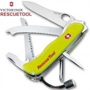 Canivete Victorinox Rescuetool Amarelo Fosforescente c/ Bainha 111mm 0.8623.MWN