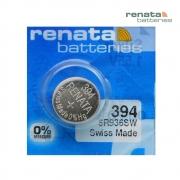 Pilha Bateria 394 SR936SW Renata Swiss Made 1,55V Botão