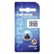 Pilha Bateria CR1025 Lithium Renata Swiss Made 3V Botão