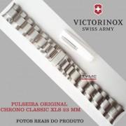 Pulseira de Aço Victorinox Chrono Classic XLS 23mm 003263