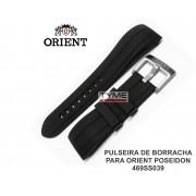 Pulseira de Borracha para Relógio Orient Poseidon 469SS039