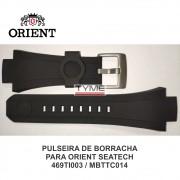 Pulseira de Borracha para Relógio Orient Seatech 469TI003 MBTTC014