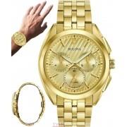 Relógio Bulova CURV Masculino Cronógrafo WB31890G 97A125