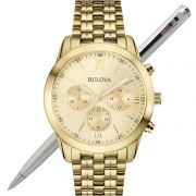 Relógio Bulova Dapper Masculino WB22346G / 97A128 Cronógrafo