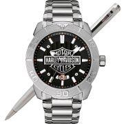 Relógio Bulova Harley Davidson Masculino WH30546T / 76B169
