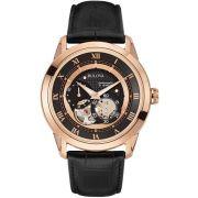 Relógio Bulova Masculino Automático Wb21874p / 97a116 Rosé