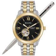 Relógio Bulova Masculino Automático WB32004P