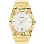 Relógio Bulova Masculino Dourado Wb21267h / 97b101