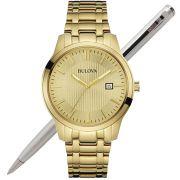 Relógio Bulova Masculino Dourado WB22444G / 97B145