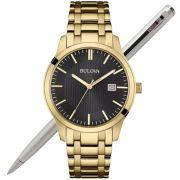 Relógio Bulova Masculino Dourado WB22444U