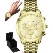 Relógio Bulova Masculino Dress Cronógrafo WB22346G / 97A128