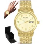 Relógio Bulova Masculino Emeritus Dourado WB21105G 97C47
