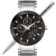 Relógio Bulova Masculino Prateado Wb22195t / 96c105