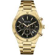Relógio Bulova Masculino Wb22408u / 97b161 Dourado