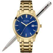 Relógio Bulova Masculino Wb22444z / 97b156 Dourado