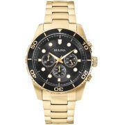 Relógio Bulova Masculino Wb31989u / 98a173 Dourado