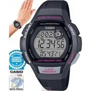 Relógio Casio Feminino Step Tracker Lap Memory 200 LWS-2000H-1AVDF