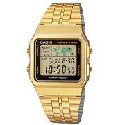 Relógio Casio Vintage A500WGA-1DF World Time