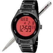Relógio Champion DIgital Unissex CH40231D Preto