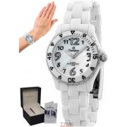 Relógio Champion Feminino Analógico Branco CP28177B