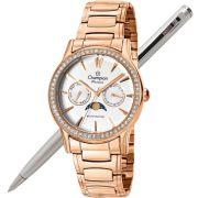 Relógio Champion Feminino Passion Multifunção Lunar CH38440Z