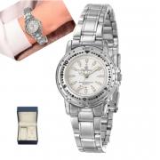 Relógio Champion Feminino + semi jóia CH38100O
