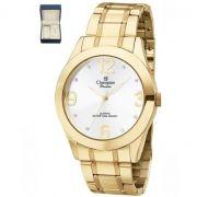 Relógio Champion Passion Dourado Feminino + semi jóia CH24268D
