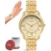 Relógio Condor Feminino Dourado CO2035MPQ/4D