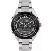 Relógio Condor Masculino Anadigi COY121E6AC/3P Prateado