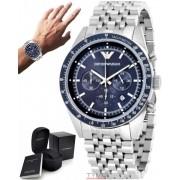 Relógio Empório Armani Masculino Cronógrafo AR6072/1AN AR6072