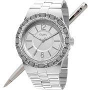 Relógio Euro Feminino Assimetric Prata EU2035XYO/3K