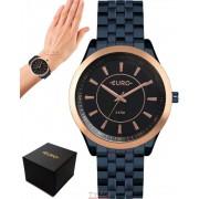 Relógio Euro Feminino Color Slim Azul EU2035YOX/4A