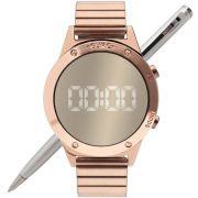 Relógio Euro Feminino Fashion Fit Reflexos EUJHS31BAC/4D Rosé