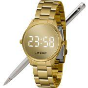 Relógio Lince Feminino Led Digital MDG4617L BXKX - LED Branco